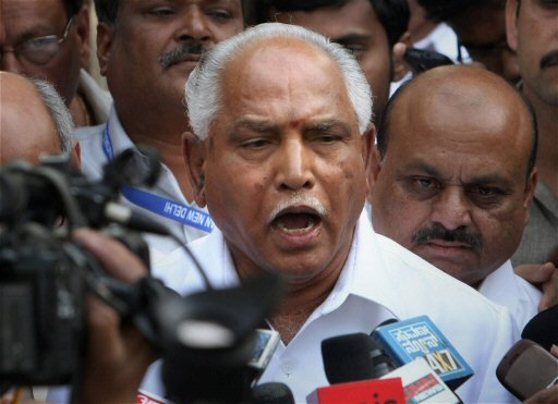 """Yeddy """"confident"""" of being reinstated after meeting Gadkari"""