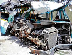 One killed as BMTC bus hits pole