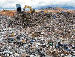 BBMP plans composting  waste at Mandur landfill