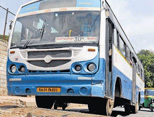 BMTC bus stolen, found abandoned next day