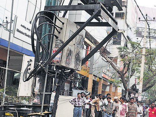 BBMP chief told to inspect transformers