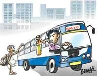 Inebriated man takes BMTC bus for a 'ride'
