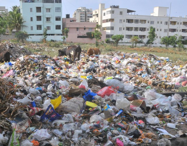 How BBMP failed to set up waste processing units