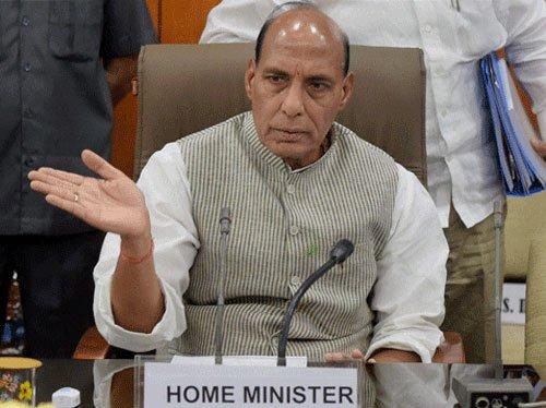 No bugging at Gadkari home, says Rajnath