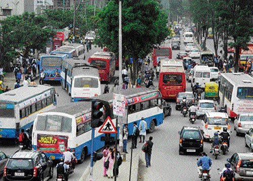 Silk Board junction bus stop to be shifted to ensure free traffic flow