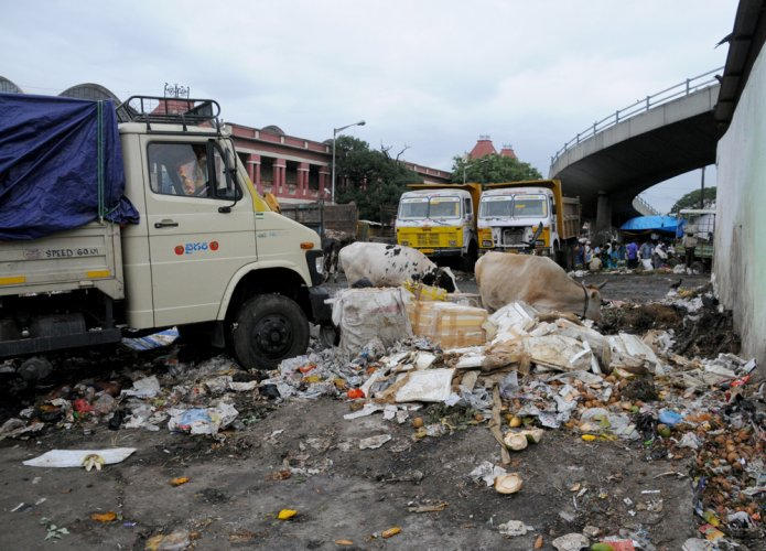 BBMP scouts for alternative site to dump City's garbage