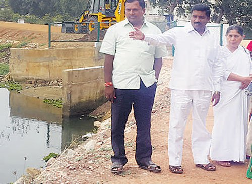 BBMP Horticulture committee on lake inspection spree
