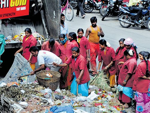 BBMP health division to monitor garbage collection