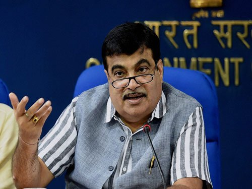 Work on setting up 3 major ports to begin by March: Gadkari