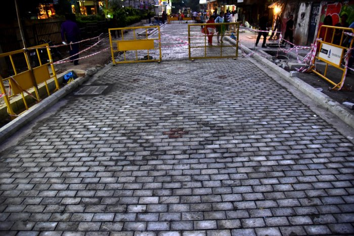 BBMP misses third deadline to complete paving of Church Street; cancels gala
