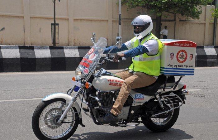 BBMP to deploy 100 bike ambulances across city