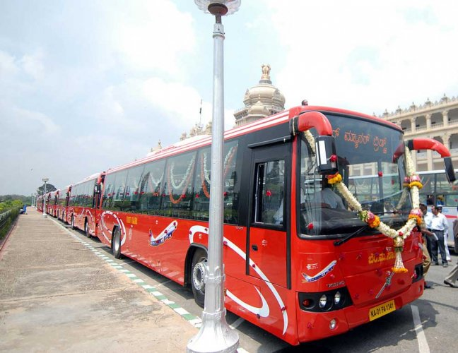 The corporation will go a step further and introduce an app to track vehicle health management. The app is being tested in the Jayanagar depot. DH file photo