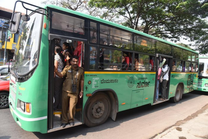 Uncertainty prevailed over the free bus pass promised by the previous Congress government, as ministers in the subsequent Congress-JD(S) alliance did not take a firm stand on the issue.