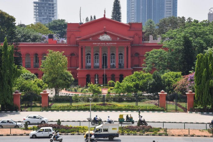 A division bench comprising Justices Raghavendra Chauhan and H T Narendra Prasad was hearing the petition, which pertains to the setting up of an Indira Canteen in a public space.