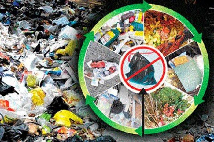Segregation of waste. DH illustration