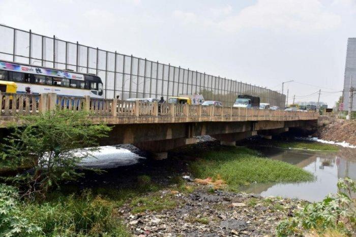 DH file photo of the Varthur bridge.