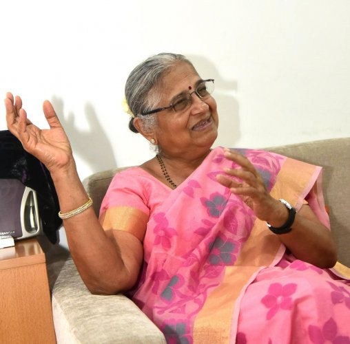 It added that it also has copies of appeals for funds that have been typed on a fake letterhead of the foundation and bear forged signatures of Infosys Foundation Chairperson Sudha Murty. (DH File Photo)