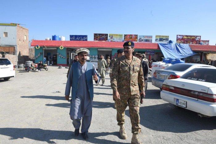 Major General Asif Ghafoor. (AFP File Photo)