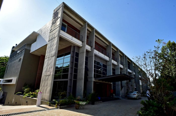 Bangalore International Centre's new building has come up at a cost of about Rs 29 crore. PHOTO/ KRISHNAKUMAR P S