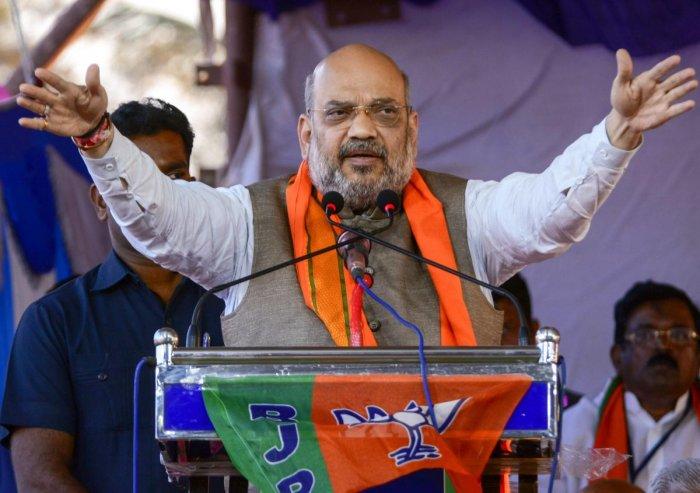 File photo: BJP President Amit Shah