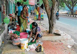 Ragigudda slum dwellers face rodents and red tape