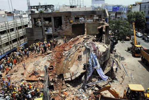 Toll in Secunderabad hotel collapse rises to 16