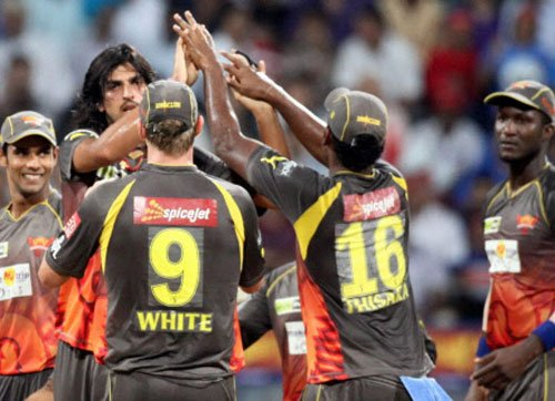 Sunrisers Hyderabad beat T&T by 4 wickets