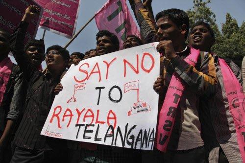 Rayala-Telangana issue: Bandh hits bus services, shops shut