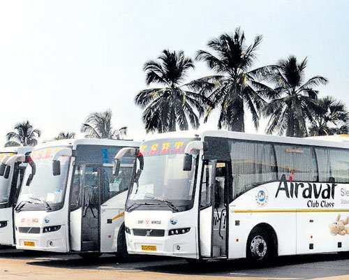 KSRTC inches closer to installing emergency exits in Volvo buses