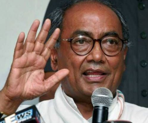 Congress firm on formation of Telangana: Digvijay Singh