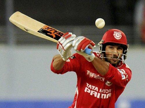 Punjab set Mumbai Indians 169-run target