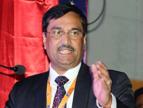 Arrested Syndicate Bank Chairman S K Jain suspended