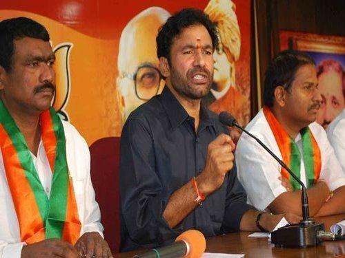 BJP to oppose any move by Telangana govt on Muslim reservation