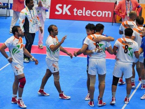 Men's kabaddi team bags 7th successive Asiad gold
