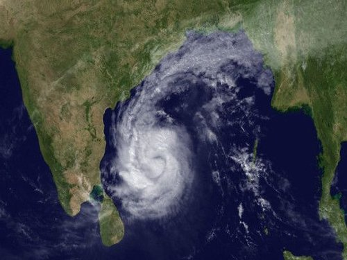 Cyclone threat to Andhra coast blows over