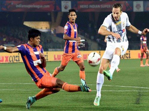 Pune snap Atletico de Kolkata's unbeaten run in ISL