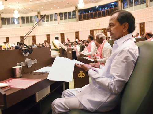 Telangana: TDP MLAs suspended for entire budget session