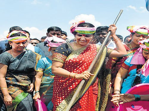 On a mission mode to save tanks in Telangana