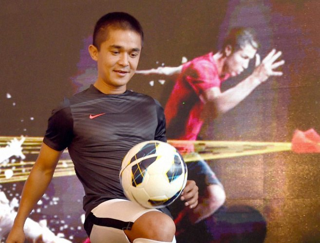 Sunil Chhetri becomes first Indian to score 50 international goals