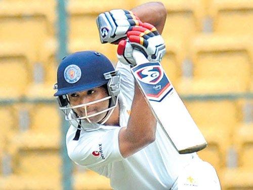 KSCA XI struggle against Assam