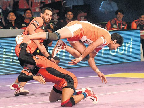 Second string U Mumba too good for Puneri Paltans