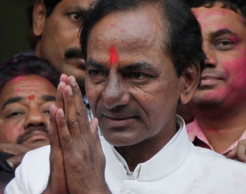 Telangana CM faces flak over hiring Rs 2-cr flight to China
