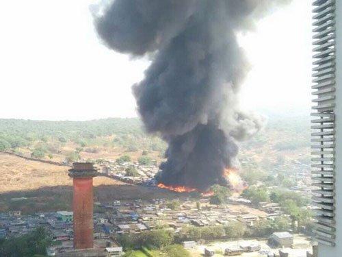 One killed in Mumbai slum fire