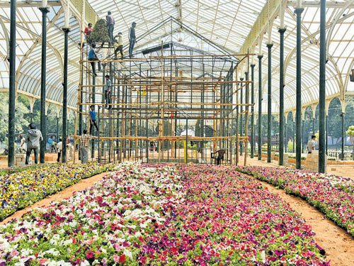 For a flower show free of bee attacks