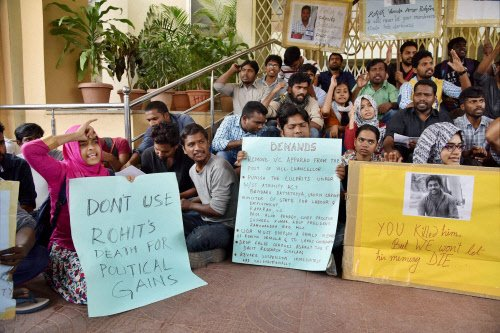 HCU:Academic activities slowly get back on track amid protests