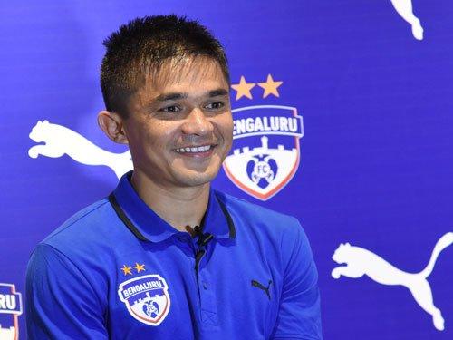 Chhetri extends stay at Bengaluru FC