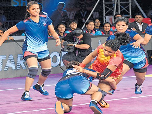 A move to boost women's kabaddi in India