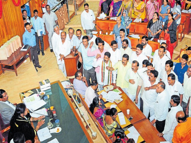 Corporator accuses Palike of shielding Mantri Developers