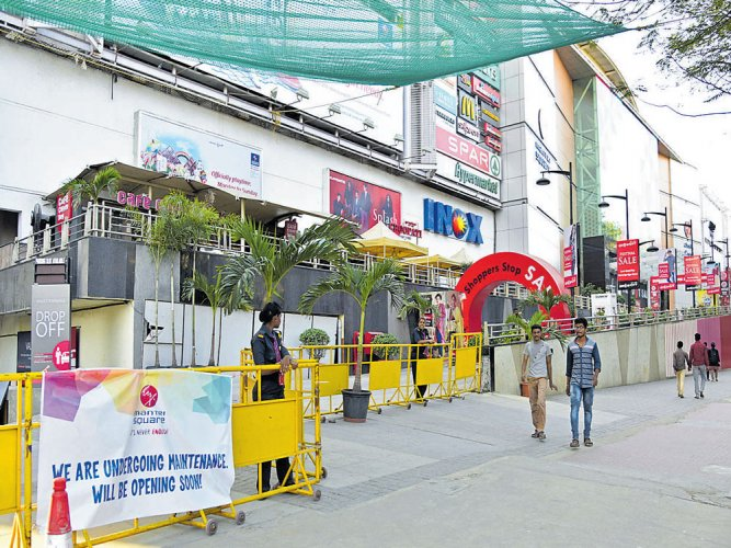 Panel:Mantri mall wall collapsed as eroded beam couldn't bear load