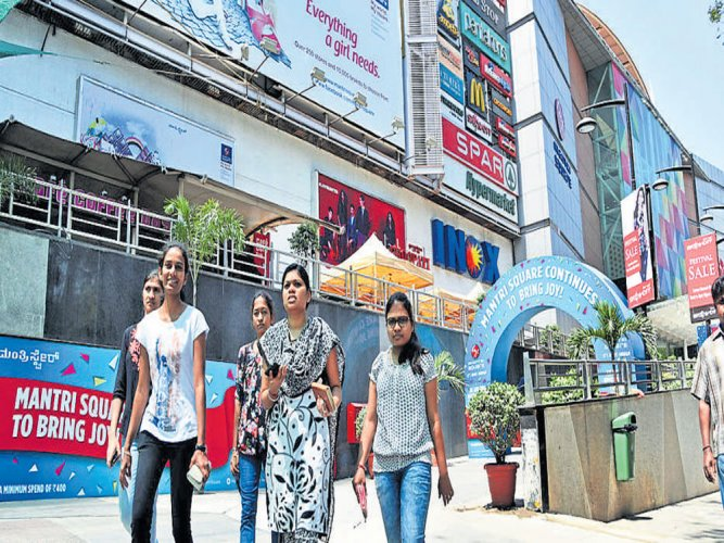 Mantri mall comes to life after 40 days